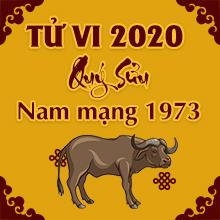 Xem bói tử vi tuổi Quý Sửu năm 2020 nam mạng 1973 là #Tốt hay #Xấu