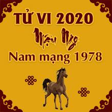 Xem bói tử vi tuổi Mậu Ngọ năm 2020 nam mạng sinh năm 1978 Miễn Phí