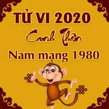 Xem tử vi tuổi CANH THÂN năm 2020 nam mạng 1980 [CHI TIẾT NHẤT]