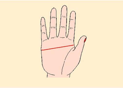 Nam giới có chỉ tay ngang có ý nghĩa gì?