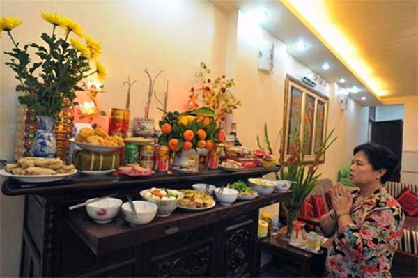 Bài cúng lễ giao thừa trong nhà và ngoài trời năm 2017 Đinh Dậu