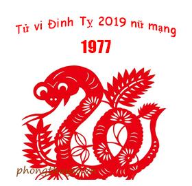 Luận giải tử vi tuổi Đinh Tỵ năm 2019 nữ mạng 1977 là Tốt hay là Xấu?